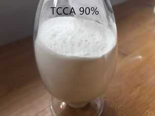 TCCA 90% Swimming Pool Chemicals , White Swimming Pool Powder For Water Treatment